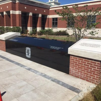 Public Granite Installation work for Military
