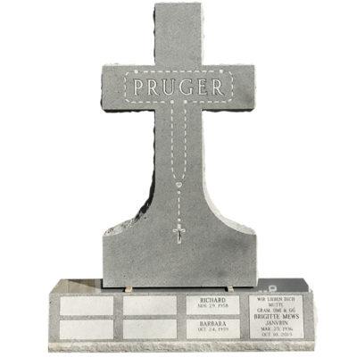 Catholic cross monument